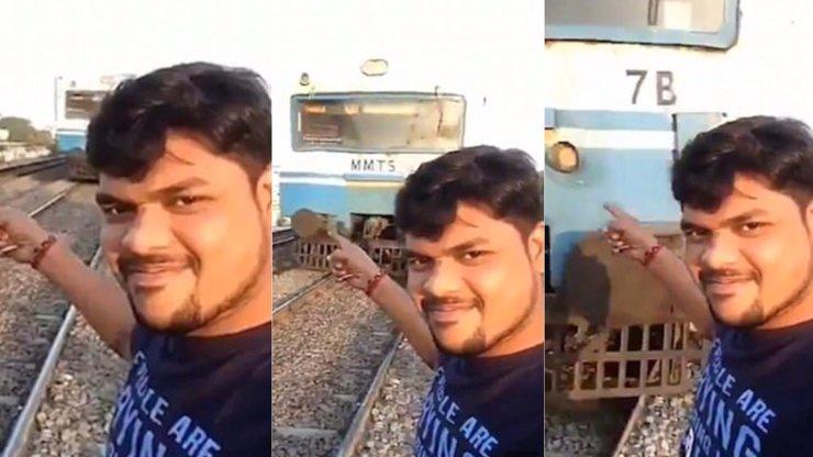 Ostře sledované vlaky: Muž se natáčel s mašinou, ta mu urazila hlavu! HRŮZNÉ VIDEO