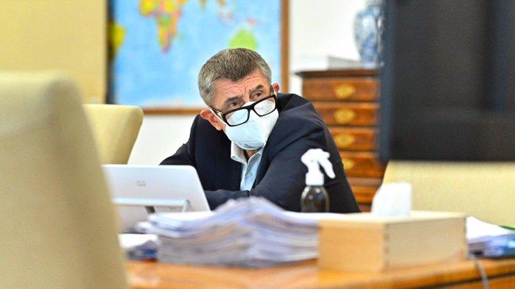 Kabinet vlády chce opět prodloužit nouzový stav: Tentokrát až do konce března