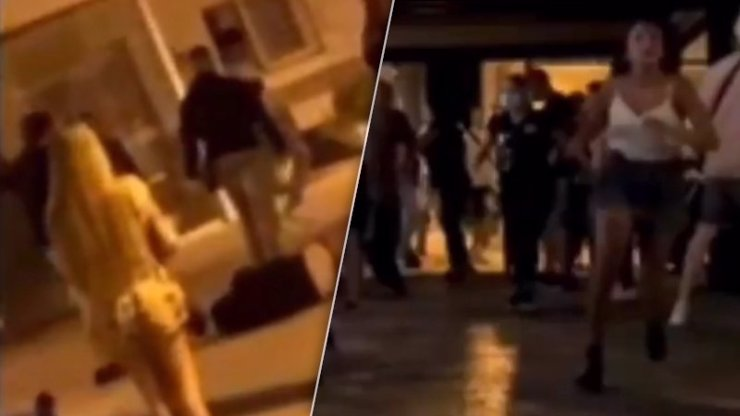 Rozvolnění v turistickém ráji se zvrhlo: Opilci se rvali v ulicích, házeli po sobě židle i popelnice