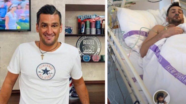 Martin Fenin (32) náhle převezen do nemocnice: Selhaly mu orgány?