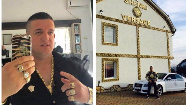 Albánský obchodník je posedlý značkou Versace: Takový bizár jen tak neuvidíte!