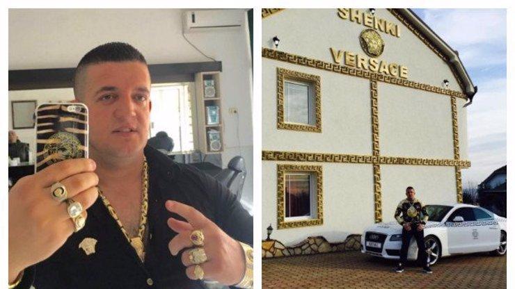 Albánský podnikatel je zcela posedlý značkou Versace: Větší bizár dnes neuvidíte