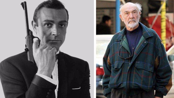 Sean Connery alias agent 007 slaví 88. narozeniny: Jak šel čas s chudým Skotem, který dobyl svět filmu?