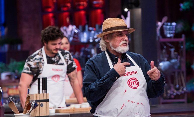 Nejstarší účastník MasterChef 2020 Dědek si nebere servítky: Ostře se pustil do mladé generace kuchařů