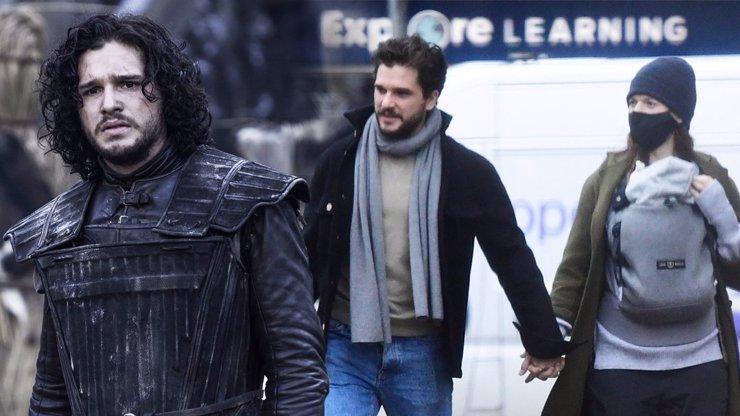 Jon Snow otcem: Slavnému herci se narodil chlapeček, má ho se seriálovou kolegyní