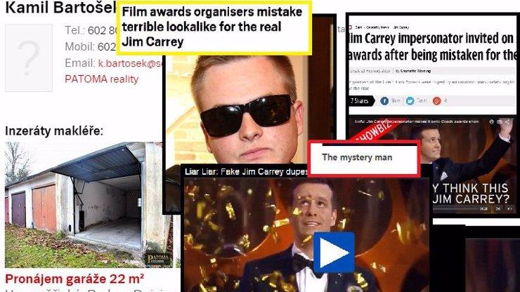 Kazma vydělává na dvojníky, jak se dá: Pronajímá garáže! Falešný Carrey zatím dobývá svět!