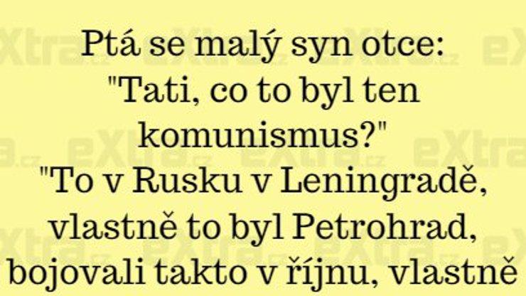 Definice komunismu na 6 písmen!