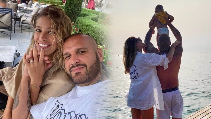 Luxusní rodinná dovolená Rytmuse a Jasminy Alagič: Z rýpavých a závistivých komentářů si nic nedělají