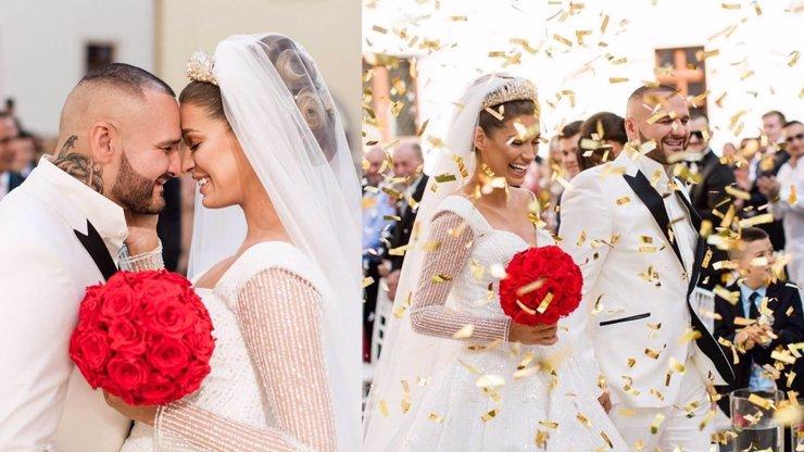Jasmina Alagič a Rytmus slaví rok od svatby: Rodinné štěstí zabalené do instantního kýče