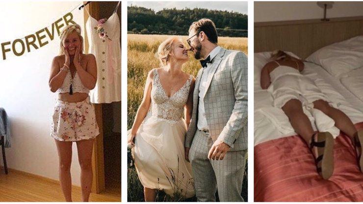 Patricie Solaříková si užila rozlučku: Ukázala fotky z večírku před svatbou