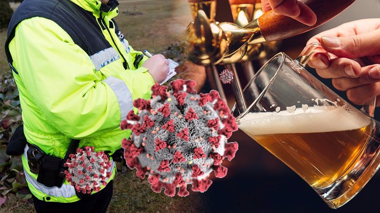 Koronavirová opatření v praxi: Za jedno pivo na veřejnosti vám hrozí obří pokuta