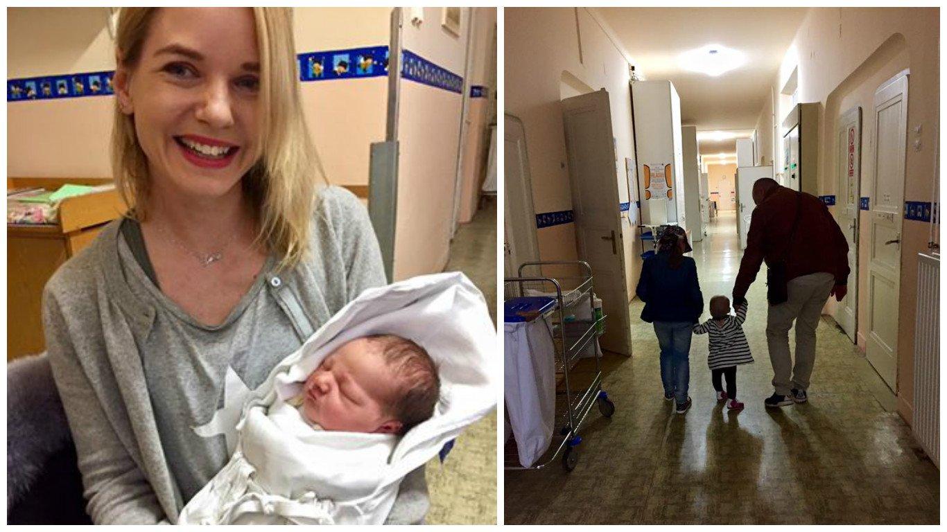 Podařilo se jí ututlat těhotenství? Manželka Víta Bárty Kateřina v porodnici!