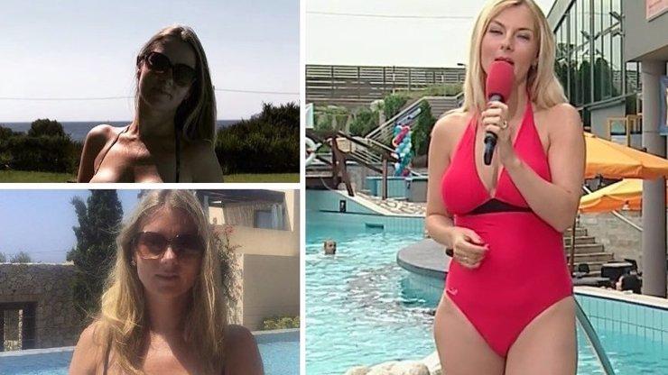 Spadla nám brada! Bývalá hvězda TV Nova Mráčková se pořádně odvázala na dovolené