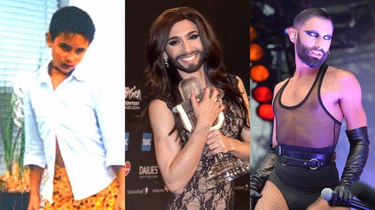 Conchita Wurst slaví 31. narozeniny: Takhle šel čas s HIV pozitivní vousatou zpěvačkou