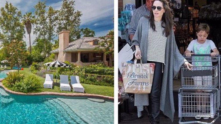 Tady se Angelina schovává před Bradem: Pronajala si tohle luxusní sídlo! FOTKY UVNITŘ