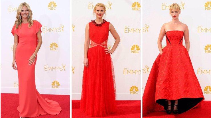 Ceny Emmy ovládla červená: Který z 8 modelů vám vyrazil dech?