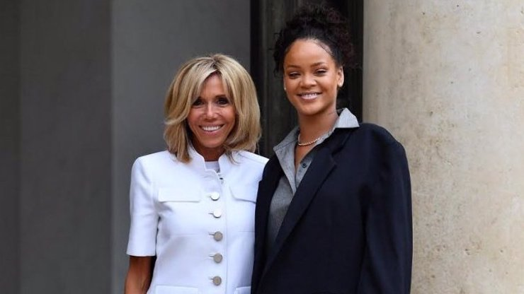 Nepomohla jí ani Rihanna! Francouzi odmítají první dámu. Placenou funkci berou jako Macronovu provokaci