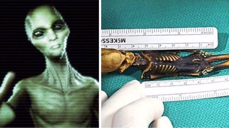 Vědci si neví rady s podivnou mumií: Jedná se o lidský plod, nebo mimozemšťana?