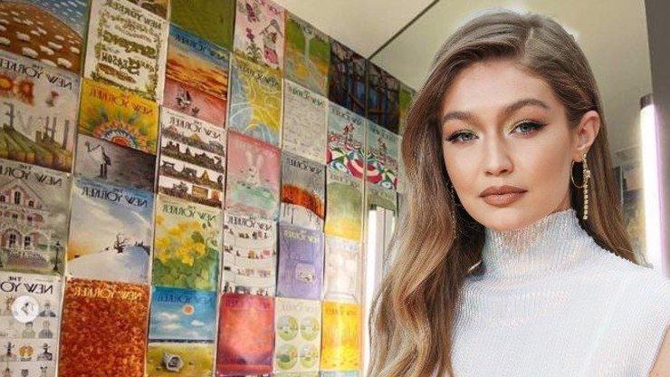 Modelka Gigi Hadid si sama zařídila byt: Barevná halucinace se šílenými dekoracemi