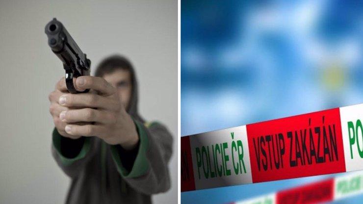 Muž střílel na Hodonínsku u mateřské školy. Zasahovat musel i vrtulník