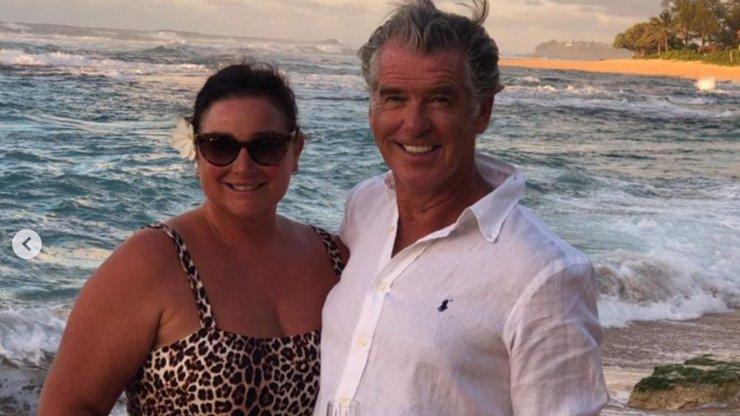Pierce Brosnan poslal dojemný vzkaz manželce: Jeho láska k ní je každým rokem silnější