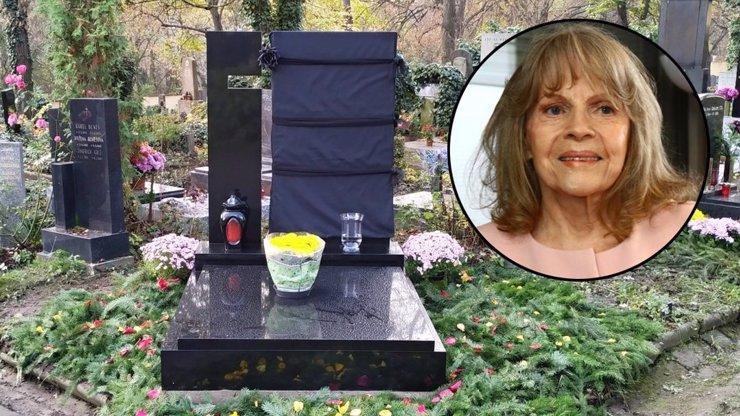 Tady bude odpočívat Eva Pilarová: Hrob má jen pár metrů od kamaráda Karla Gotta