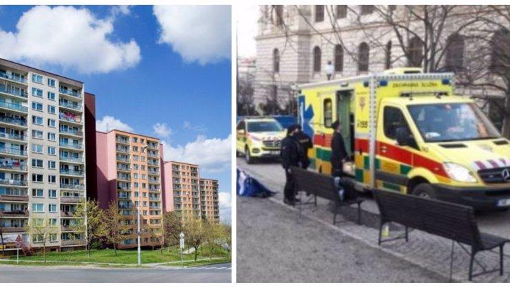 Obrovská tragédie v Přerově: Chlapeček (†4) vypadl ze 4. patra na chodník, na místě zemřel