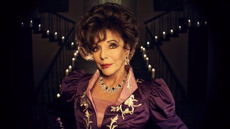 Joan Collins má 87: Takhle šel čas s mrchou Alexis ze seriálu Dynastie