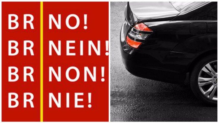 Brňáci opět ukázali svou zakomplexovanost: Neuvěříte, co moravský mladík prováděl s pražskými auty!