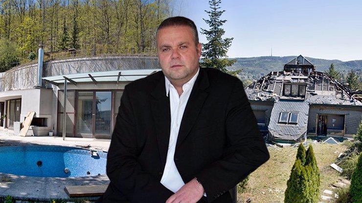 5 let od odsouzení Radovana Krejčíře: Takhle zpustla jeho vila, která byla přehlídkou luxusu
