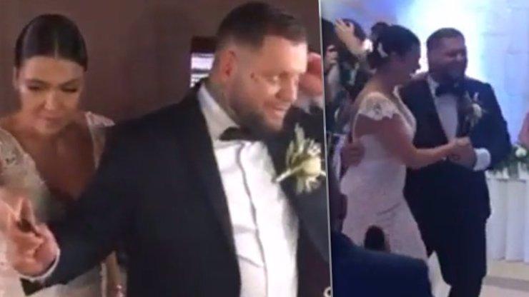 Unikly záběry z Kaliho utajené svatby: První manželský tanec porotce The Voice