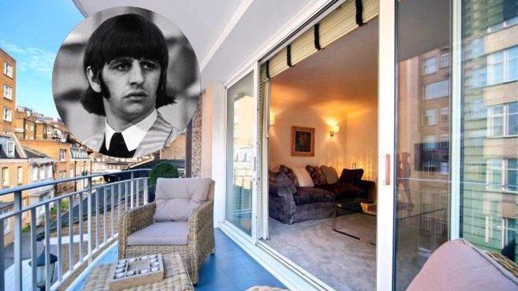 Ringo Starr slaví 80: Luxusní byt, ve kterém přespával s ostatními Brouky, je k pronájmu