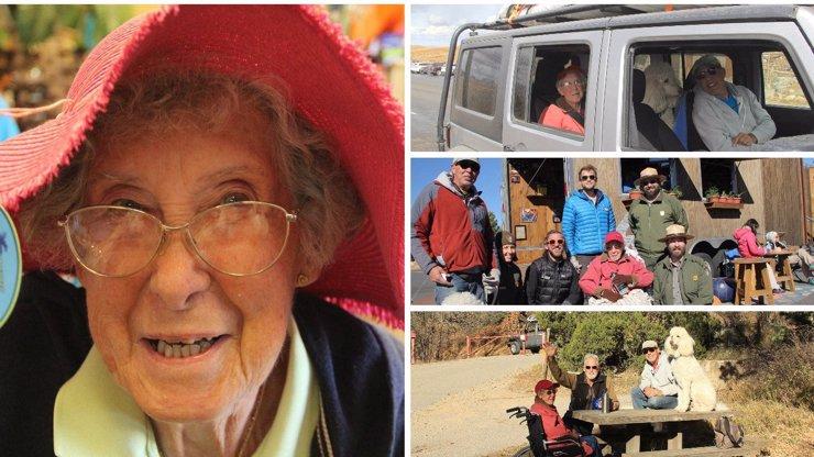 Babičce (90) zjistili rakovinu dělohy. Odmítla léčbu a vydala se vstříc novým zážitkům!