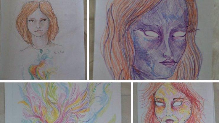 Tohle dokáže droga: Podívejte se, jak se vidí žena po užití LSD!