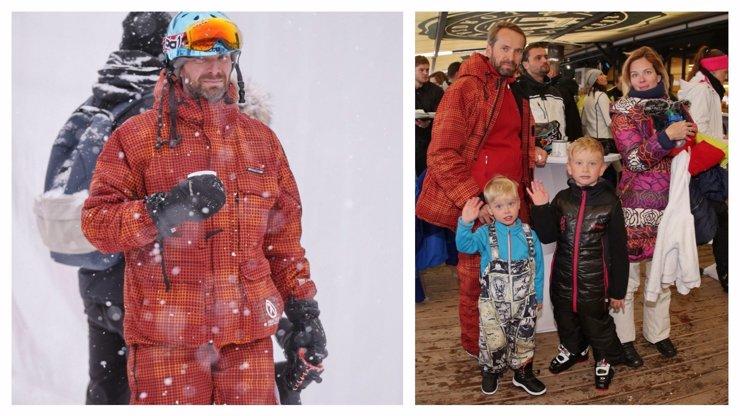 Ve vánoční komedii Špindl hraje Jan Révai instruktora lyžování: Kdo ale učí jezdit jeho děti?