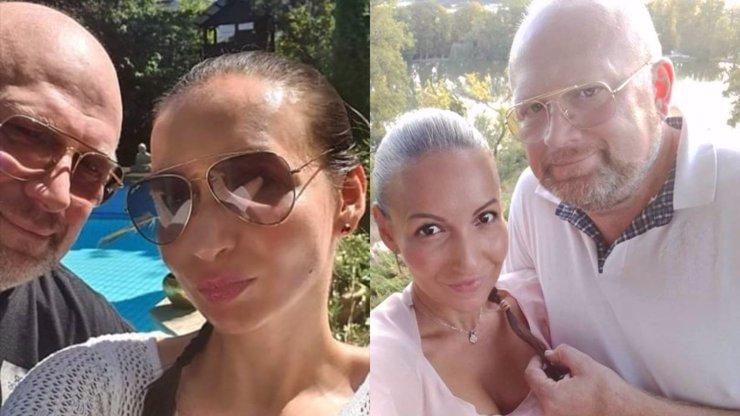 Bez Moniky je mu líp: Michal Štika vedle své mladší partnerky Báry jen kvete