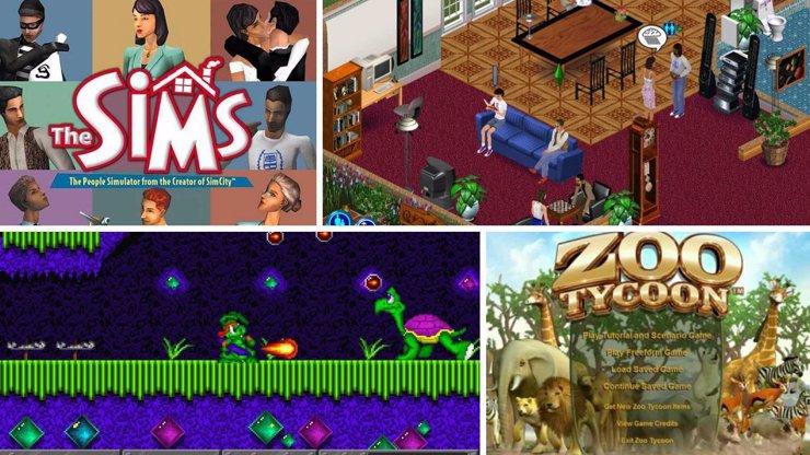Počítačové hry, na kterých jsme vyrostli