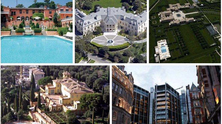10 nejdražších domů na světě: Podívejte se na fotky bydlení, o kterém si můžete nechat jen zdát