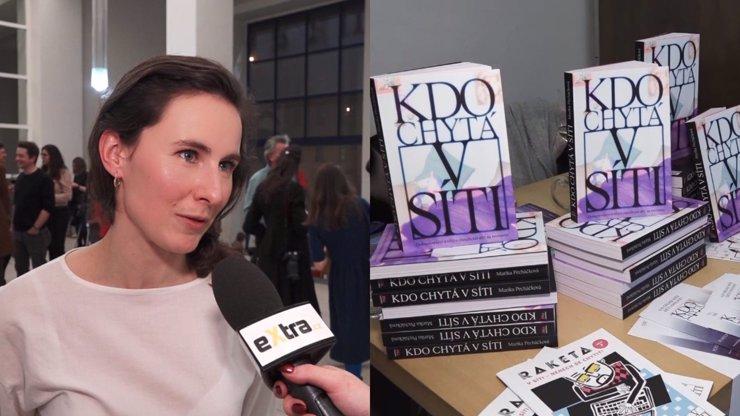 Marika Pecháčková pokřtila svou knihu Kdo chytá v síti: Zajímali mě ti predátoři, říká