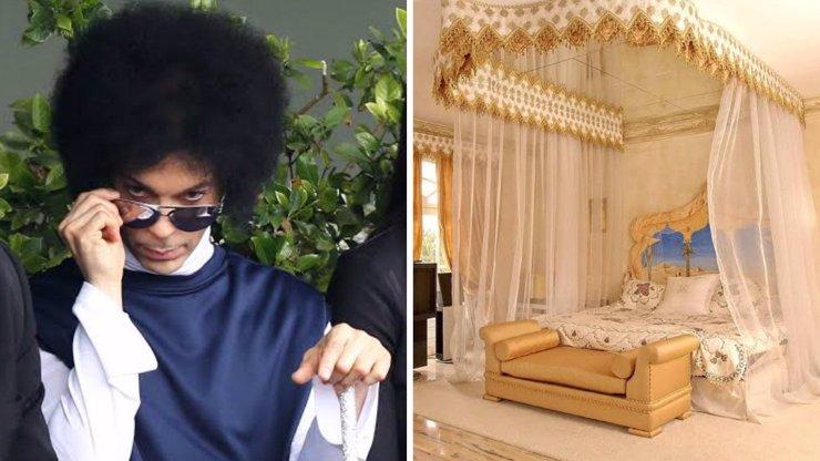 9 fotografií honosného sídla zesnulého Prince. Prodá se už konečně po jeho smrti?