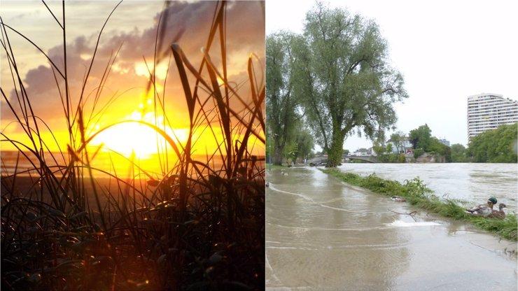 Velká voda může v týdnu ještě přijít, sucho je zažehnáno, říká meteoroložka