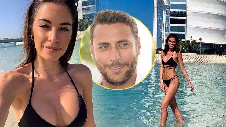 Utajovaná přítelkyně hokejisty Pavelce ukázala vylepšené tělo v plavkách: Misska Budková provokuje z Dubaje