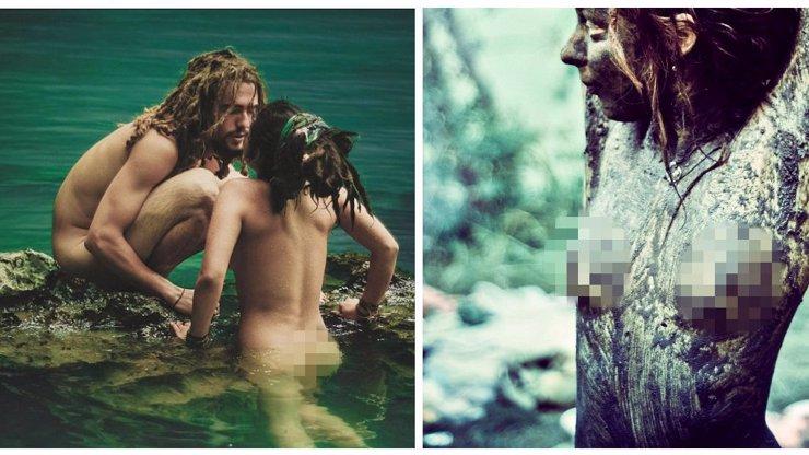 Fotograf zachytil kouzlo Duhových lidí! Žijí nazí v souladu s přírodou!