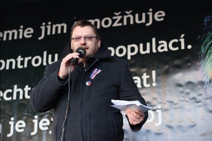 Lubomír Volný je známý svým provokativním vystupováním.