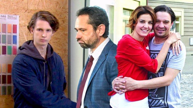 3 postavy Ulice, které se pohybují na tenké hraně: Podivín Dan, Vítek šikanovaný šéfem a kriminálník Mára