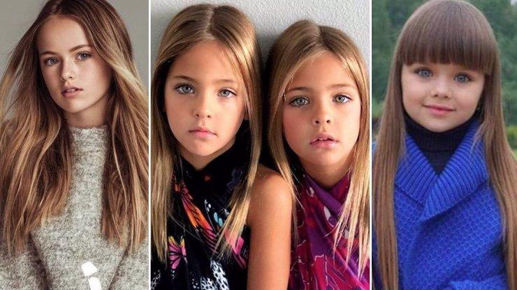 Tohle jsou nejkrásnější holčičky na světě: Ještě nemají ani občanku, ale vydělávají miliony