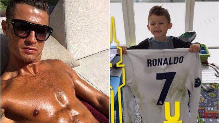 Velký hráč s ještě větším srdcem: Tohle gesto Cristiana Ronalda vás zaručeně dojme!