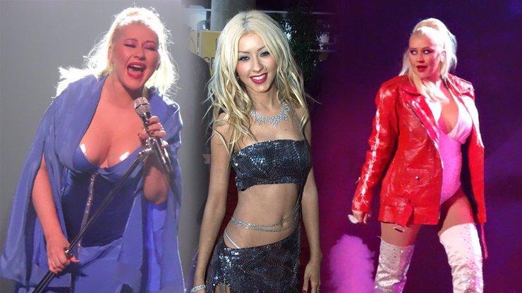 Tak šel čas s majitelkou hlasu jako zvon: Christina Aguilera rozhodně není v dobré formě