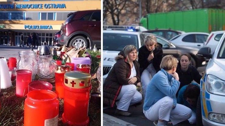 Střelba v Ostravě: Číslo smrti 6 nemusí být konečné, žena bojuje o život, její stav se zhoršil