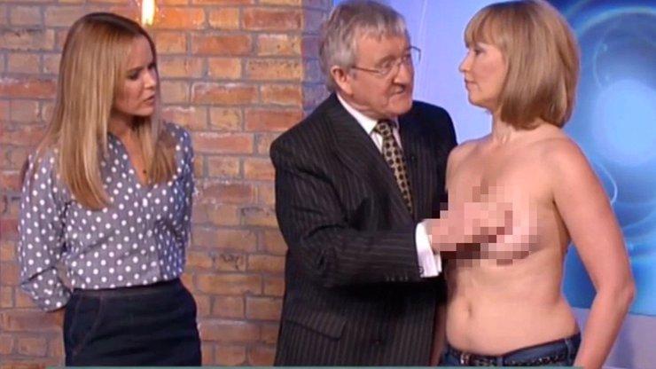 Jak má vypadat správná ranní show? Leoši, koukej! V Británii se v přímém přenosu osahávají prsa!